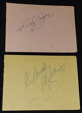 1960 - WRESTLER /WRESTLING - AUTOGRAPHS (4) - MR HITO, etc