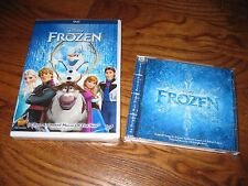 Frozen: Disney; DVD+ Used CD 2014] Boys, & Girls] Movie Rewards] New+ Fast Ship