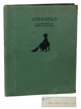 Cinderella by C.S. Evans ~ SIGNED by ARTHUR RACKHAM ~ Limited First Edition 1919