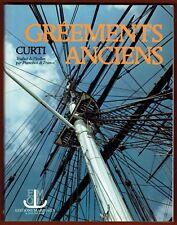 Gréements Anciens, Marine, Bateaux, Navires, Mâture, Voilure, Cordages... Curti