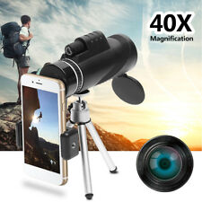 40X Optical Monocular Zoom Universal HD Telescope Camera Lens For Mobile Phone