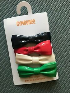 Gymboree-Set of 4 Hair Clips-New
