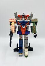 Transformers G1 - Raiden Dx Trainbots - TF Headmasters - 1987 - Takara Japan