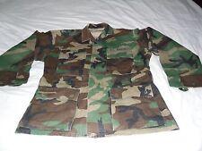 USMC Woodland Camouflage Jacket Size Small Short