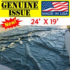 GENUINE US MILITARY TARP GP TEMPER CANOPY RAINFLY ARMY USMC USGI WATERPROOF tent