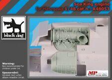 Blackdog Models 1/48 SIKORSKY SEA KING ENGINE Resin Detail Set