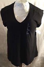 NEW Gap Women's Sleeveless Blouse Shirt Top Black Large (L)
