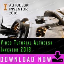 [Professional Video Tutorial] Autodesk Inventor 2018