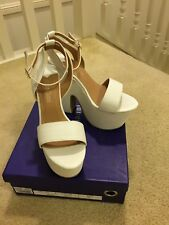 Ladies Marco Gianni Platform Wedges Size 7, EUR 38