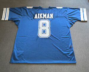 Mitchell & Ness Dallas Cowboys 1992 Troy Aikman Navy & Grey Authentic Jersey