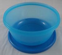Tupperware Clarissa Schüssel 1,5 l mit Deckel Blau / Hellblau Neu
