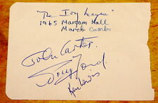 THE IVY LEAGUE ~ VERY RARE FULLY HAND SIGNED AUTOGRAPH BOOK PAGE 1965