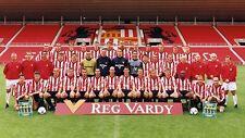 SUNDERLAND FOOTBALL TEAM PHOTO>2001-02 SEASON