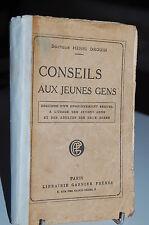 CONSEILS AUX JEUNES GENS esquisse d´un enseignement sexuel DR Henri Drouin