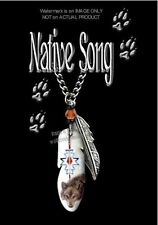 """NATIVE SONG WOLF NECKLACE for MALE or FEMALE - WILD WOLVES 24"""" ART GIFT SALE #C*"""