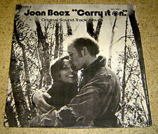 PHILIPPINES:JOAN BAEZ - Carry It On LP rare Soundtrack 2 BOB DYLAN SONGS Mareco