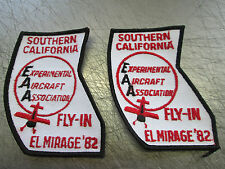 EXPERIMENTAL AIRCRAFT ASSOCIATION FLY-IN EL MIRAGE CALIFORNIA 1982 82 PATCHES 2