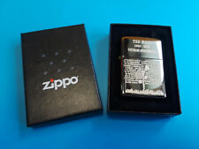 The Wall 1982-2002 Vietnam Remembered Zippo Lighter