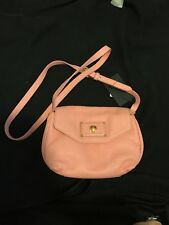 Marc By Marc Jacobs Pink Pebble Leather Crossbody Bag new with tags