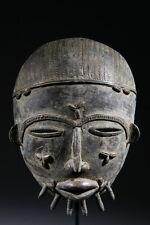 Masque Baoulé de forgeron en bronze