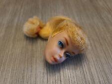 New ListingVintage Ponytail Barbie Blonde Blue Eyes Eyeshadow Head Only