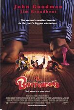 THE BORROWERS Movie POSTER 27x40 John Goodman Hugh Laurie Jim Broadbent Mark