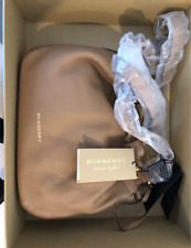 Burberry Leather and House Check Bag