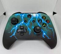 New Custom Wireless Microsoft Xbox One Thunder Storm Controller w/3.5mm Jack