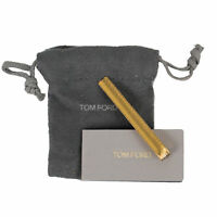 TOM FORD Gold Brass Diagonal Tie Bar