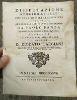 1787 REGOLE PER I MINISTRI DEGLI INFERMI (CAMILLINI ORDINE DI CAMILLO DE LELLIS)