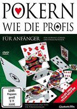 POKERN WIE DIE PROFIS-ANFÄNGER   DVD NEU