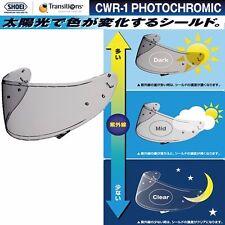 Shoei shield CWR-1 PHOTOCHROMIC from Japan F/S