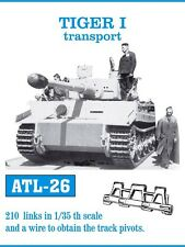 1/35 ATL26 FreeShip FRIULMODEL TRACKS (Transport type) for GERMAN TIGER I ausf E