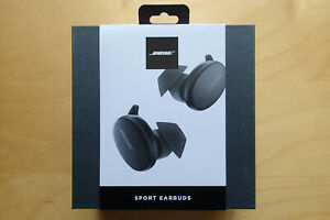 Bose - Sport Earbuds True Wireless In-Ear Headphones - Triple Black New Sealed