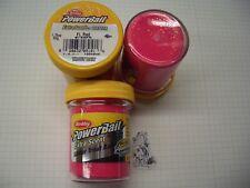Berkley Power Bait Trout Bait Glitter Fl.Red 3 x 50g-Glas 100g/6,66€