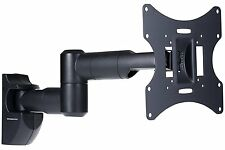 Wall Mount Slim LCD TV Bracket Tilt Swivel 23-42 Inch Led Plasma Swing Arm NEW