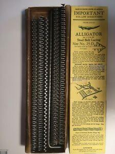 Alligator® Transmission Steel Belt Lacing Size No. 25-D