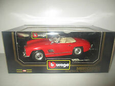 MERCEDES BENZ 300 SL ROADSTER 1957 COD.3023 BURAGO DIAMONDS SCALA 1:18