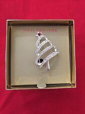 NEW w/box - Women's - Jones New York - Christmas Tree - Pin - Fashion Jewelry