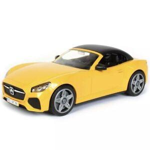 Bruder 3480 Roadster Jaune 1:16 Voiture De Sport Cabriolet Convertible Jeu Jouet