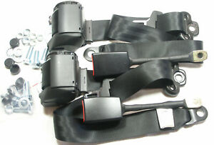 2 NEW Porsche 911  TRW / REPA SEAT BELTS , MADE IN GERMANY