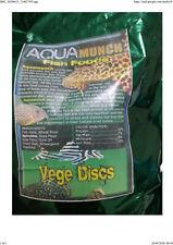 200 gms, 10 mm Vege, algae with  Spirulina wafers disc fish food (Sinking type)