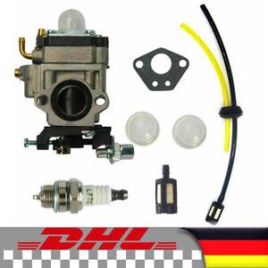52ccm & 49ccm Vergaser Zündkerze Benzinfilter kit für Motorsense Timbertech DE