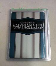 Game of Thrones Season 6 Valyrian Steel Metal Case Topper Card CT1 Promo