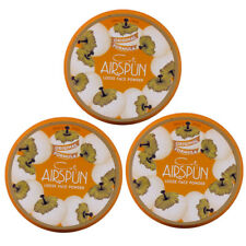 NEW Coty Airspun Loose Powder Translucent 2.30 Ounces (3 Pack)