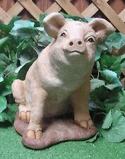 Baby Farm Pig Piglet Piggy Latex Fiberglass Production Mold Concrete Plaster