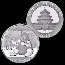 2017 China Silver Panda 30g Bullion Coin