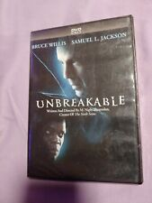 Sealed New Unbreakable Dvd Bruce Willis