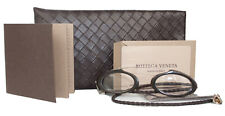 NEWT AUTH W CARD BOTTEGA VENETA BV85 NATURAL HORN 39/22 EYEGLASSES W CASE