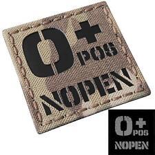 IR o+ NOPEN no penicillin OPOS multicam tactical morale touch fastener patch